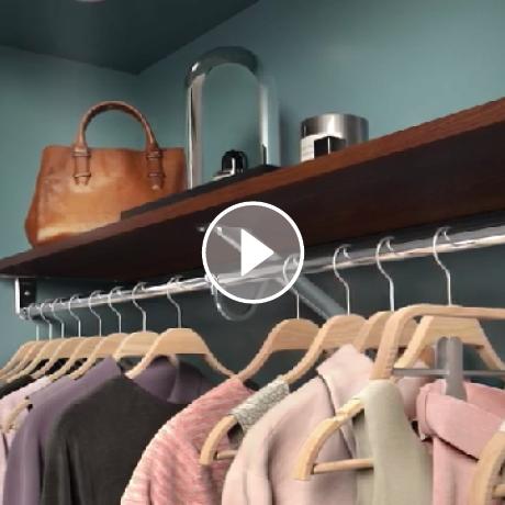 ClosetMaid ExpressShelf Reach-in Installation Video