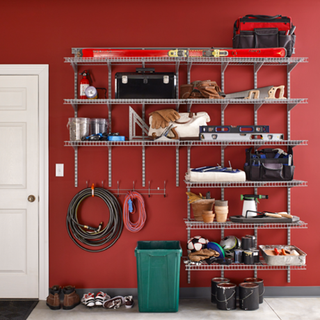 ClosetMaid ShelfTrack Adjustable Wire Shelving Heavy Duty