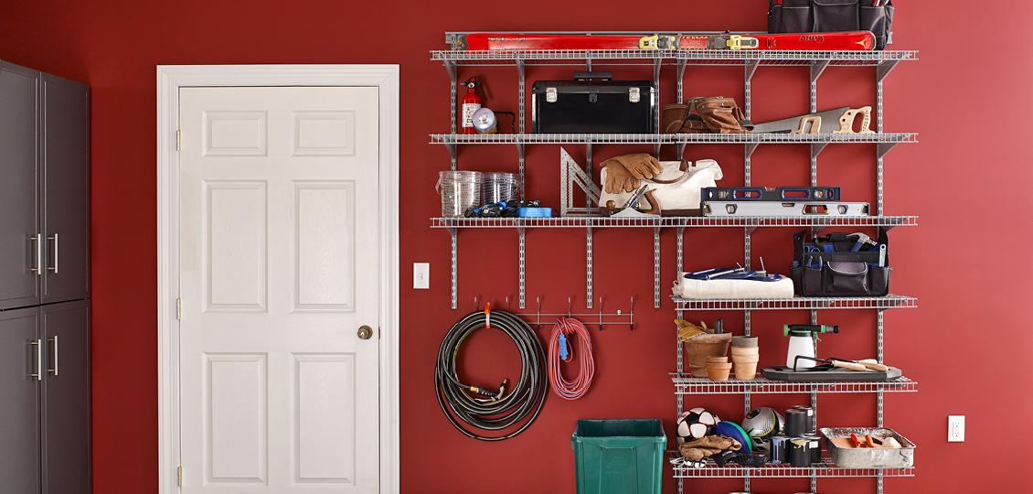 ShelfTrack - Adjustable Wire Closet & Storage   ClosetMaid Pro