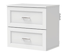 Shelftrack Evo Double Drawer Kit Traditional