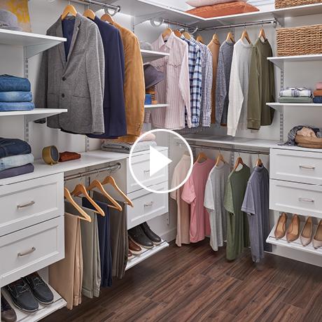 ClosetMaid ShelfTrack EVO Installation Video